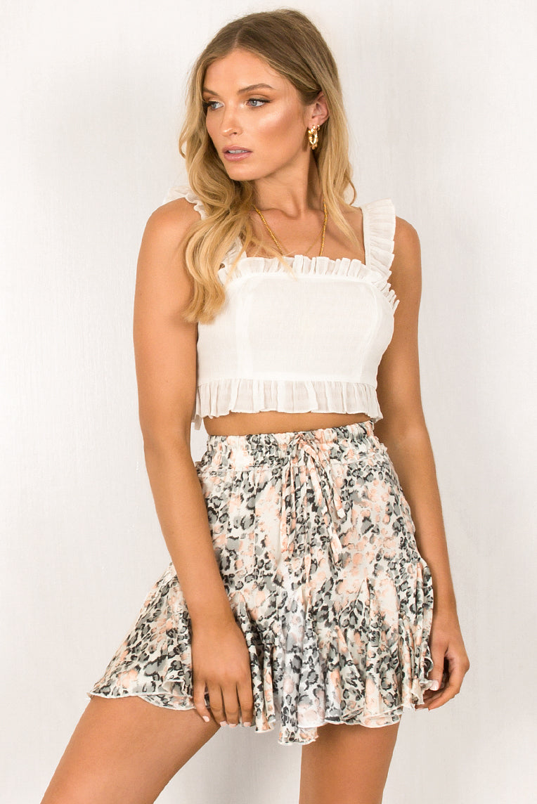 Gemma Skirt / Blush