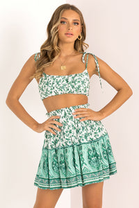 Gemini Top / Green