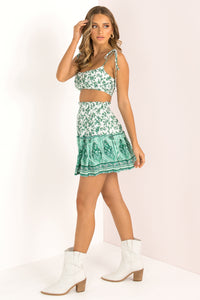 Gemini Skirt / Green