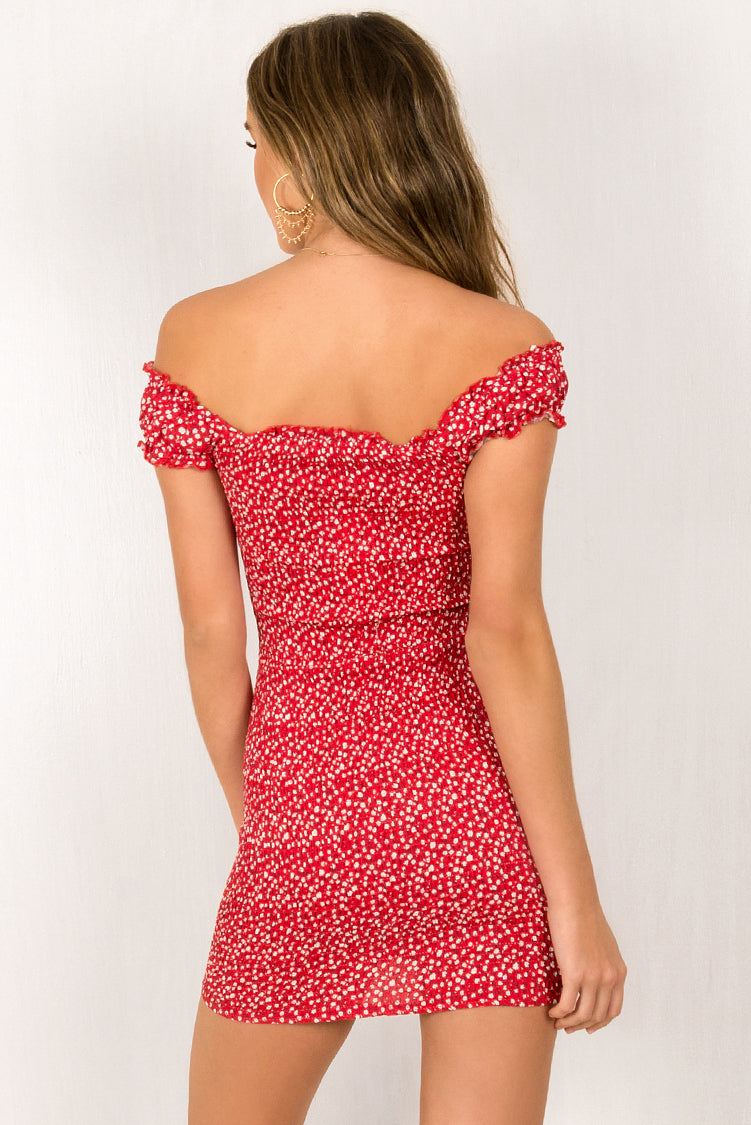 Kiki Dress / Red