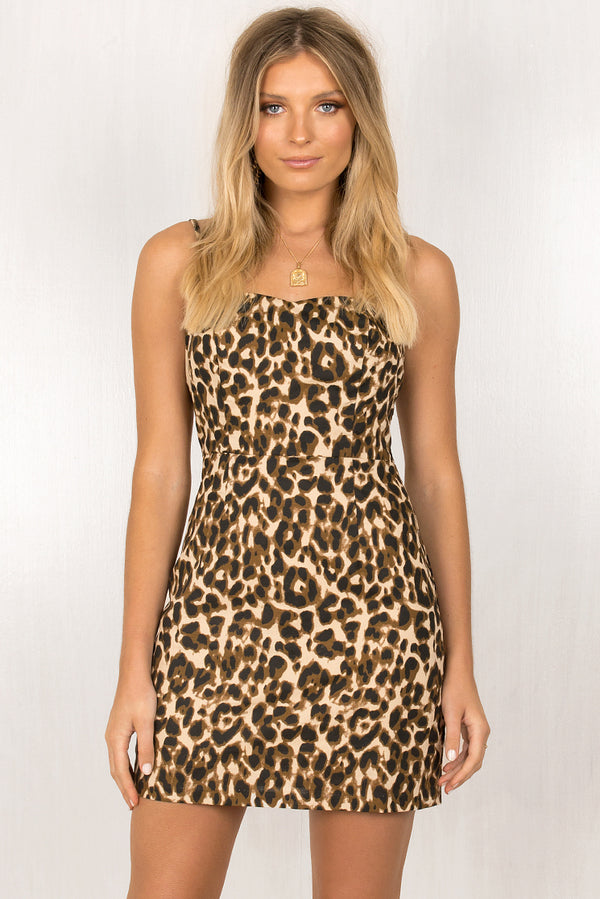 Nancy Dress / Leopard