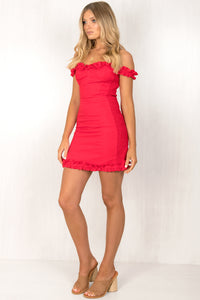 Senorita Dress / Red