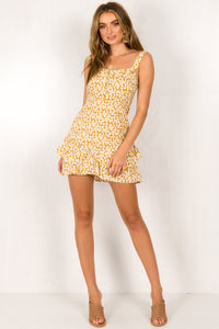 Kennedy Dress / Yellow