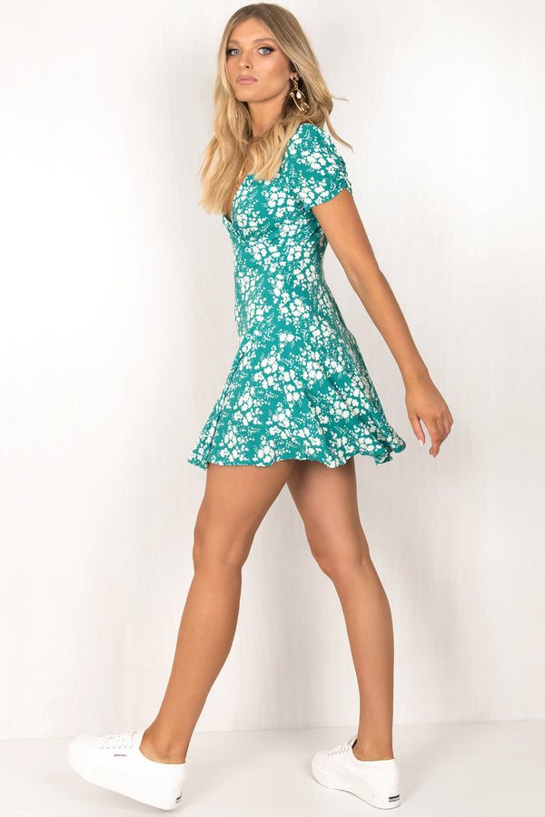 Gabriella Dress / Teal