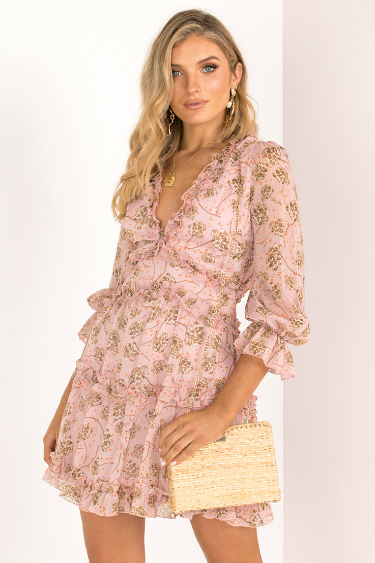 Emberly Dress / Blush