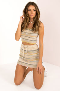 Nevada Skirt / Stripe
