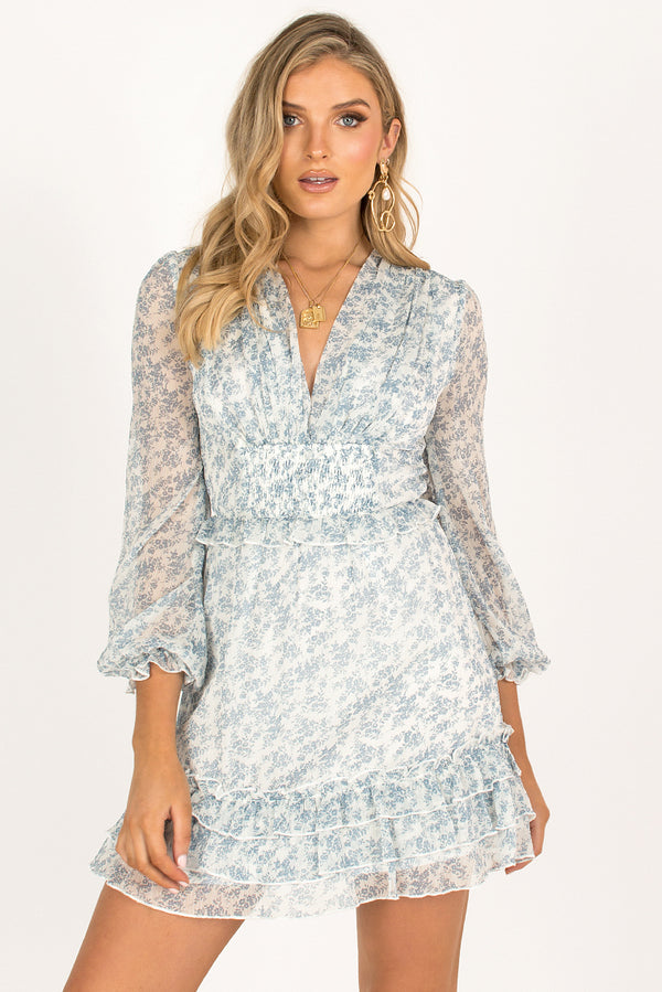 Alba Dress / Blue