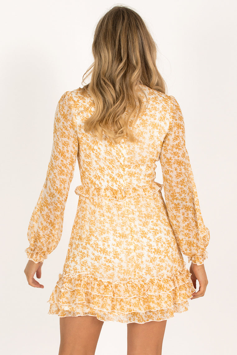 Alba Dress / Yellow