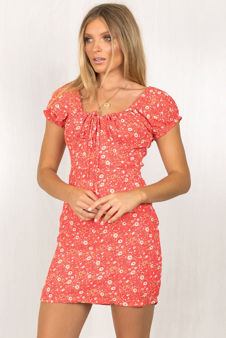 Rafi Dress / Red