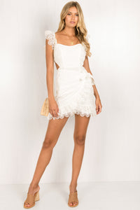 Cosette Dress / White