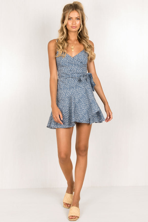 Marcella Dress / Blue
