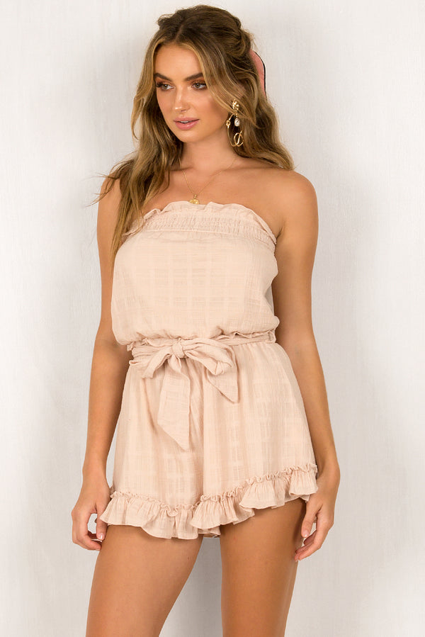 Hunter Playsuit / Beige