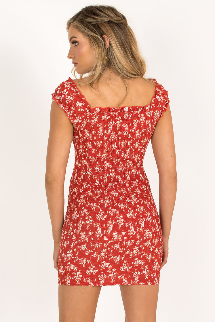 Rory Dress / Red