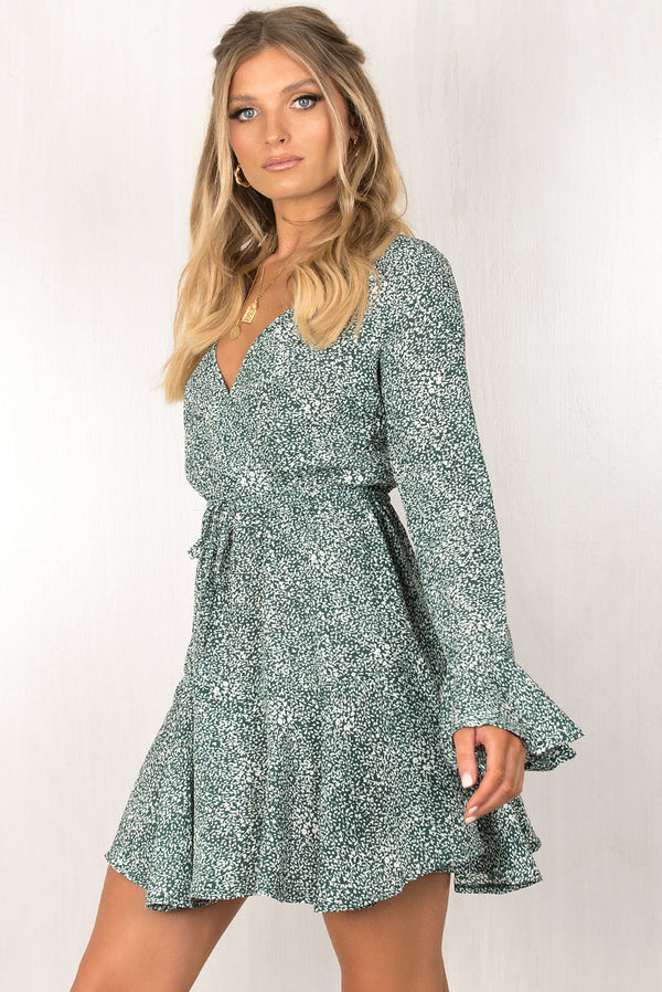 Ruth Dress / Emerald