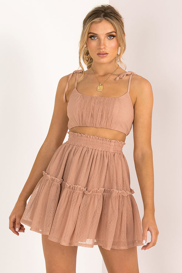 Blair Skirt / Blush