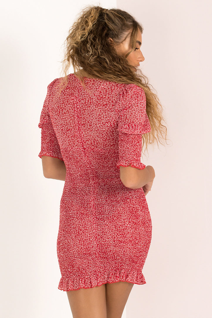 Charlie Dress / Red