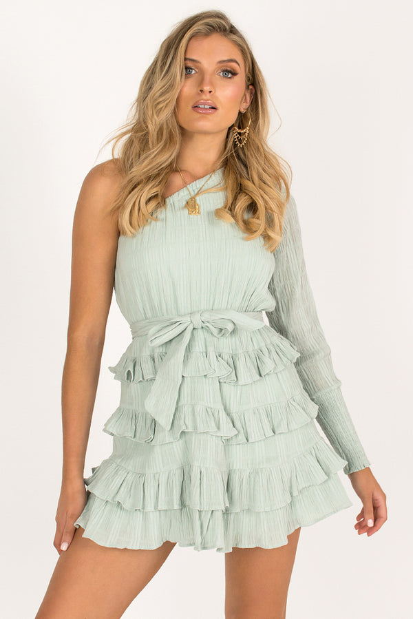 Anastasia Dress / Mint