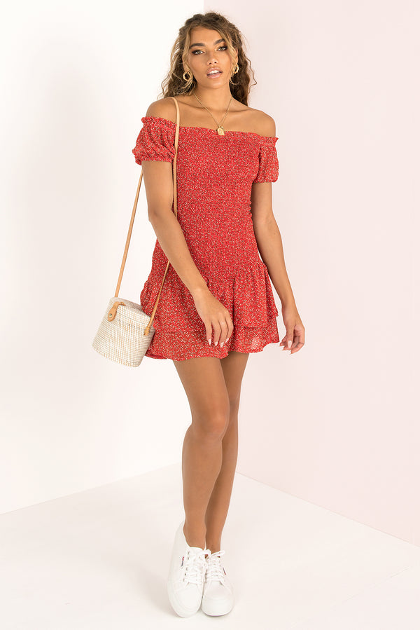 Tilly Dress / Red