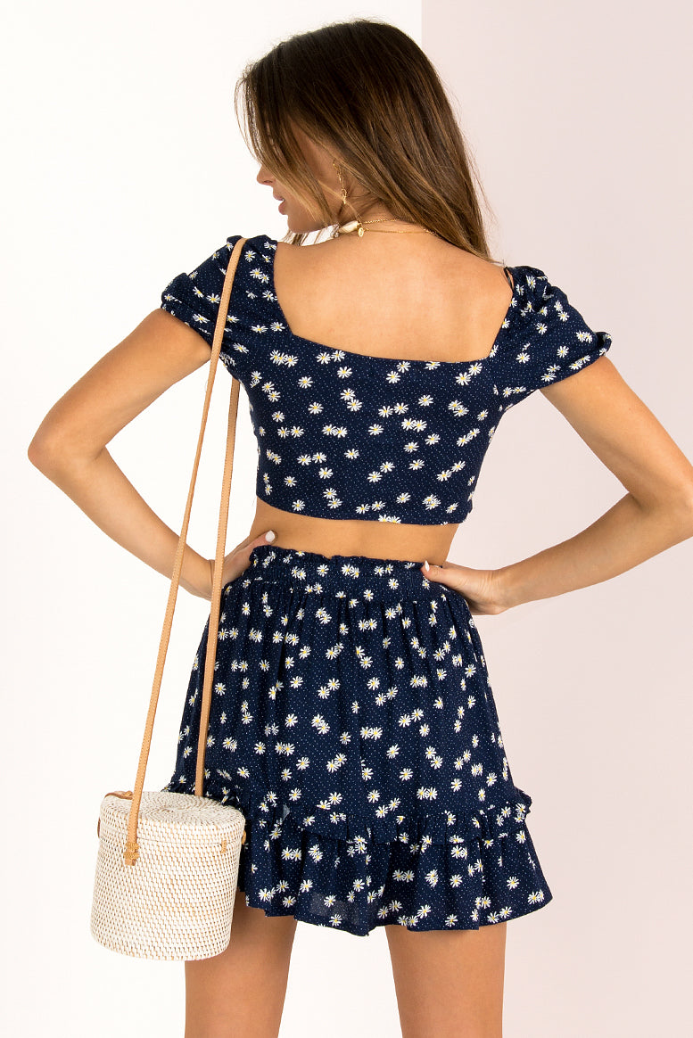 Nicola Top / Navy