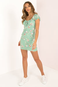 Rafi Dress / Green