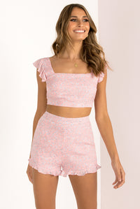 Stella Shorts / Blush