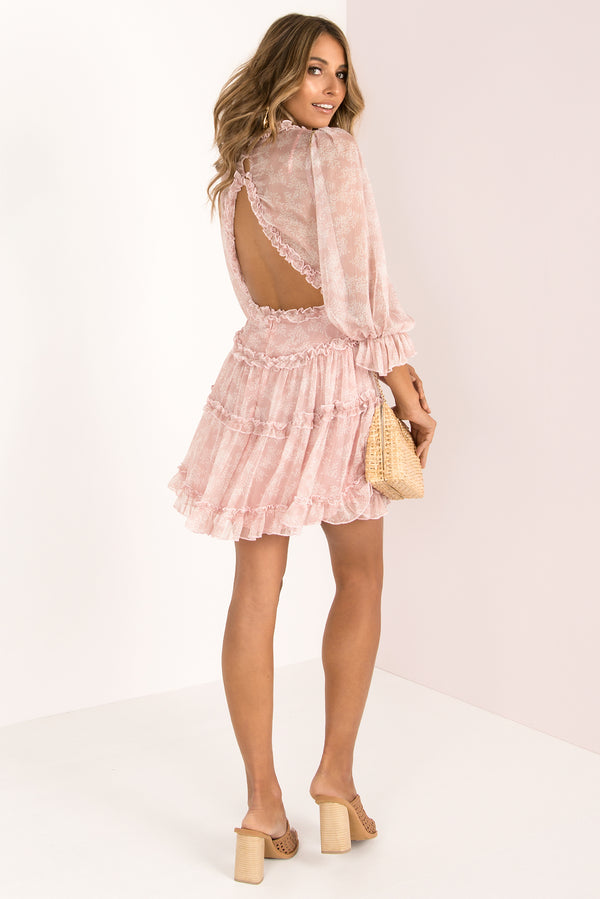 Penelope Dress / Blush