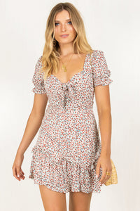 Margot Dress / Ivory Floral