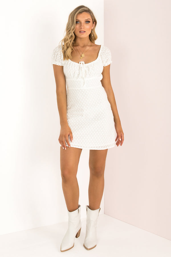 Ashlyn Dress / White