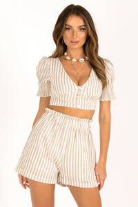 Sorrento Top / Stripe