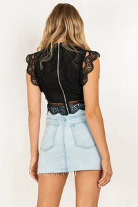 Ophelia Top / Black