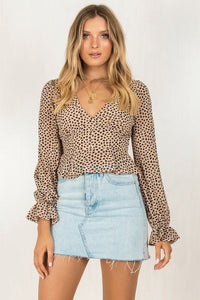 Addison Top / Beige