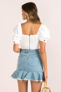 Anissa Top / White