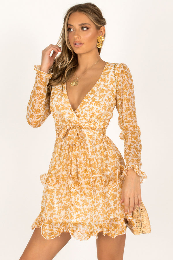 Bellini Dress / Yellow