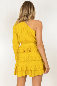Anastasia Dress / Mustard