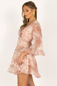 Camilla Dress / Blush