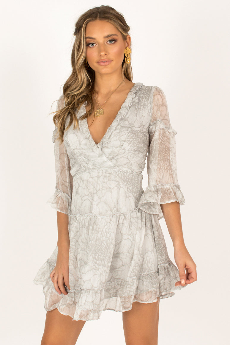 Camilla Dress / Grey