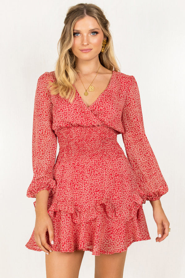 Amie Dress / Red