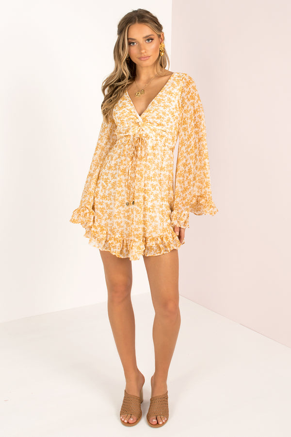 Fernanda Dress / Yellow
