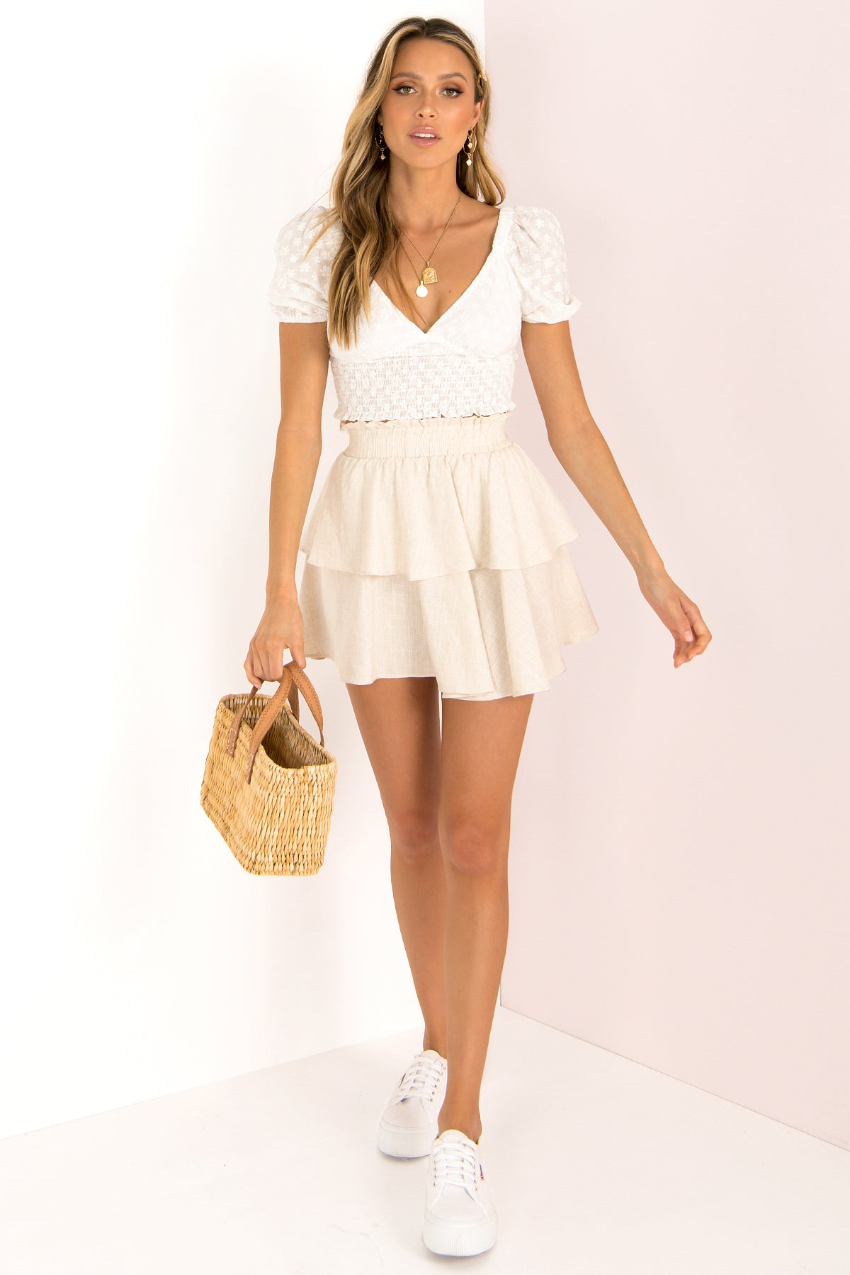 Kelly Top / White