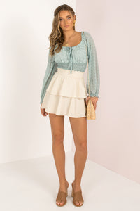 Paulina Top / Mint
