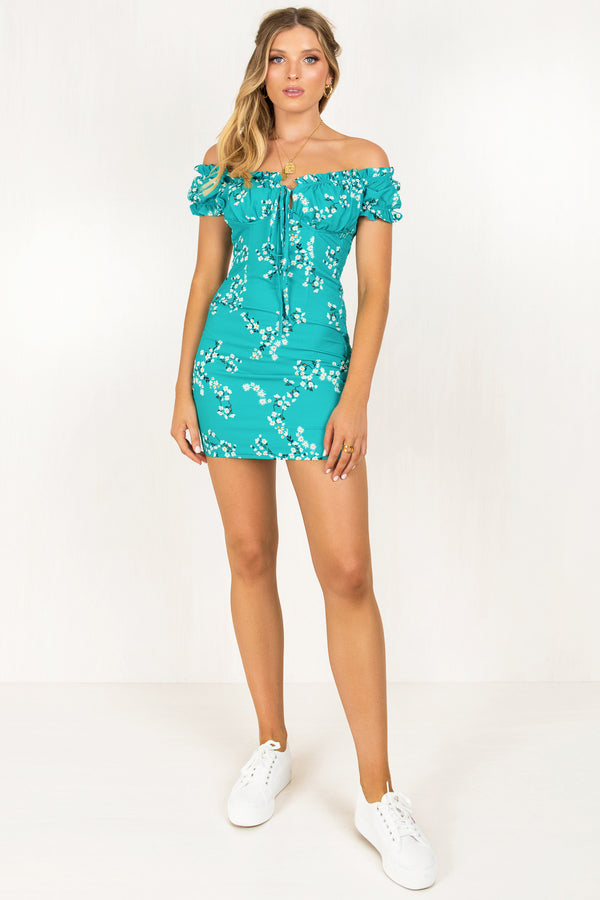 Belle Dress / Teal