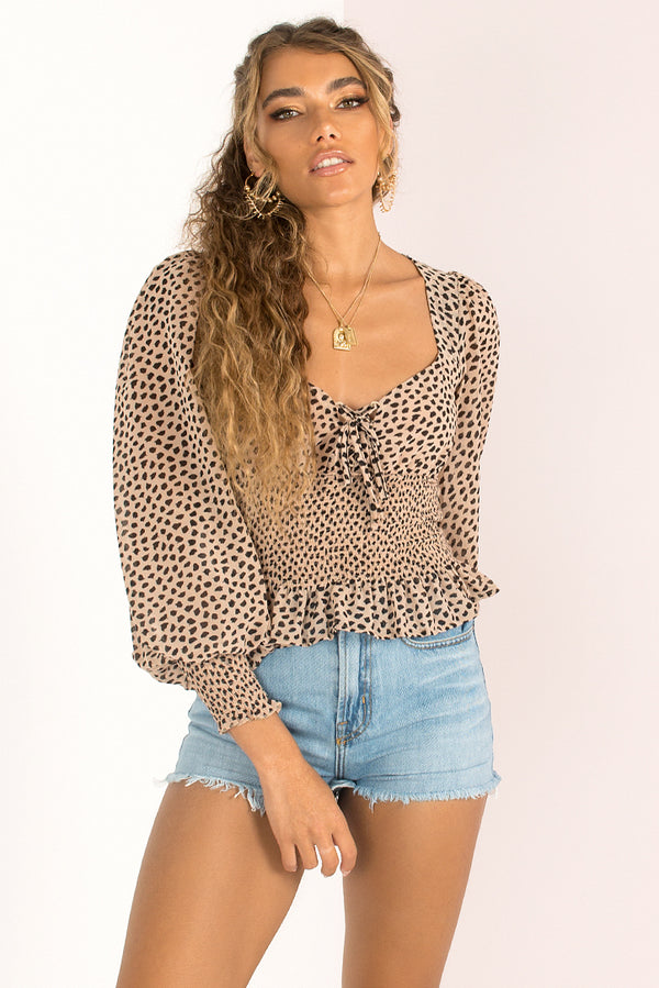 Issy Top / Beige