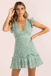 Gracie Dress / Green
