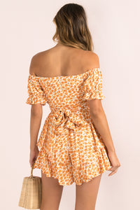 Ruth Playsuit / Orange