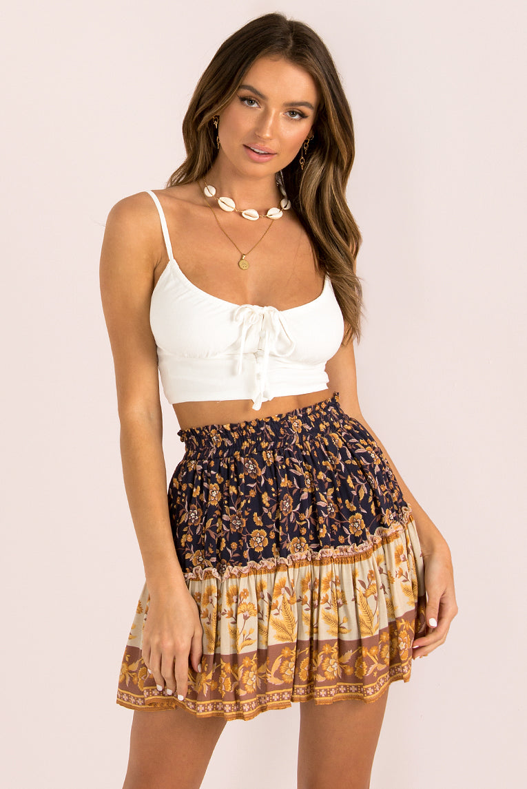 Gemini Skirt / Purple