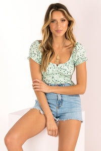 Wyatt Top / Mint