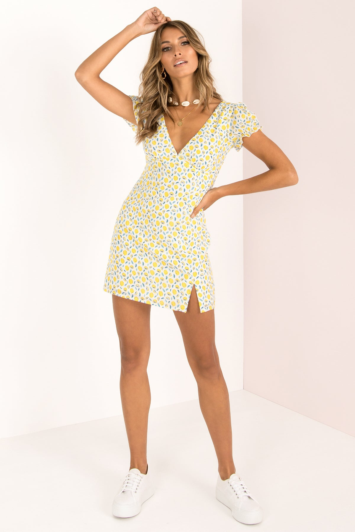 Courtney Dress / Lemon