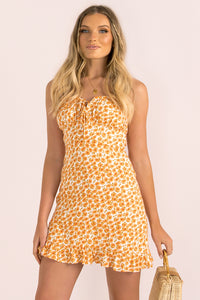 Rowena Dress / Orange