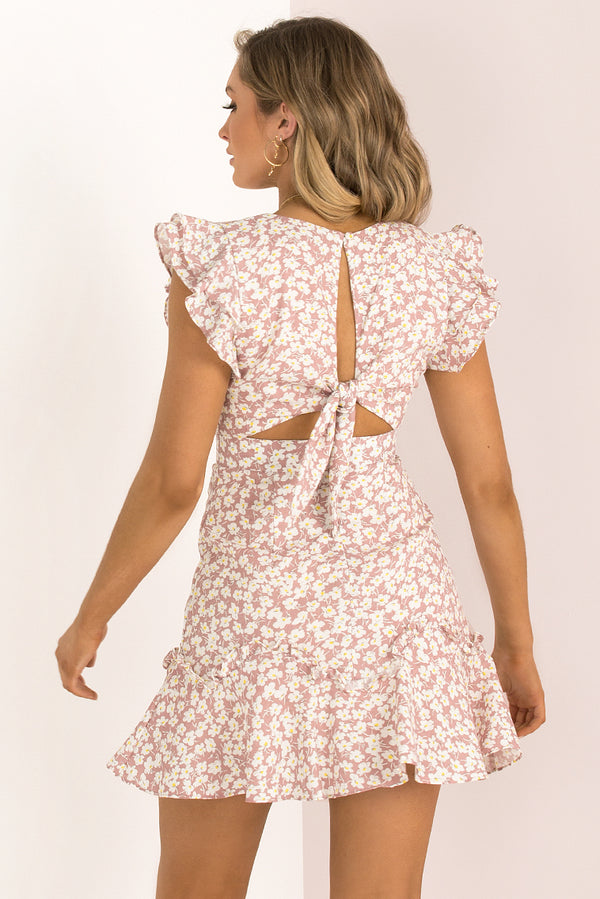 Gracie Dress / Blush