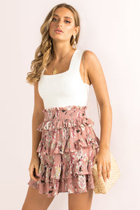 Kenzie Skirt / Blush